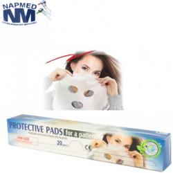 Podkłady ochronne na twarz dla pacjenta- zestaw 20szt.