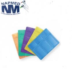 Tacki stomatologiczne kolorowe 140 x 189 mm- 100szt.