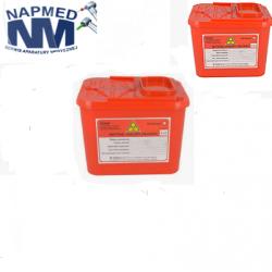 Pojemnik na odpady medyczne  1,3l.-1szt.