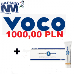 Pakiet produktów na 1000 pln. +  GRATIS Profluorid 10ml. tuba