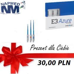 Endostar E3 AZURE- assortyment 3szt +BON 30 PLN