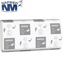 Ręczniki papierowe ZZ Katrin Plus LUX BIEL Zig Zag 2 2 warstwy 3000 szt. biały celuloza – 21szt.