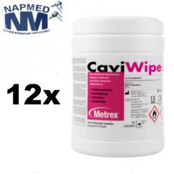Chusteczki CaviWipes 160 szt. w pojemniku (12 opakowań )